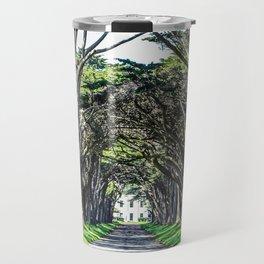 Cypress Tree Tunnel Travel Mug