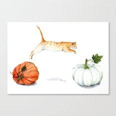 Fall Acrobatics Canvas Print