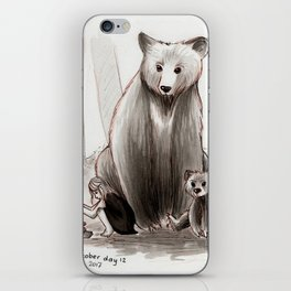 The Bearclan iPhone Skin