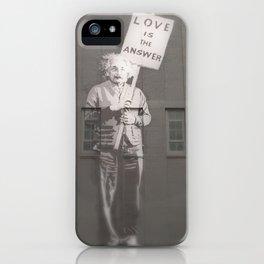 Einstein knows iPhone Case