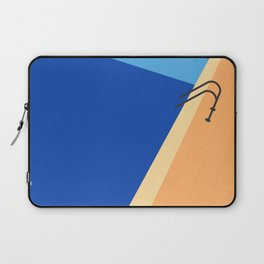 Swimming Pool with Blue Water Laptop Sleeve