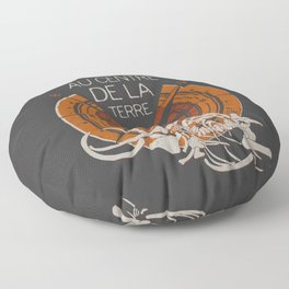 Books Collection: Jules Verne Floor Pillow