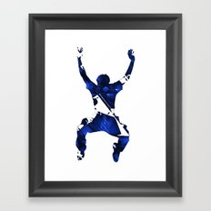 More Than a Conqueror Framed Art Print