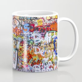 Prague's Wall Coffee Mug