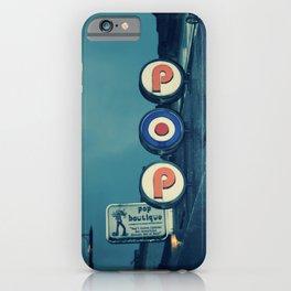 Cafe Pop Boutique iPhone Case