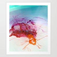 Liquid Flow Art Print