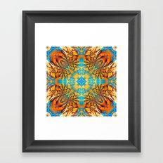 Mandala #4 Framed Art Print