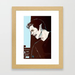 stiles no2 Framed Art Print