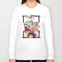 street fighter Long Sleeve T-shirts featuring Street Fighter by Mazuki Arts