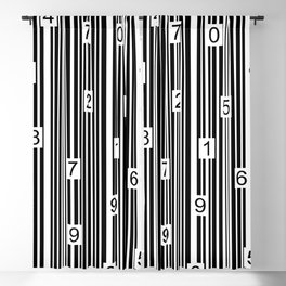Barcode Blackout Curtain