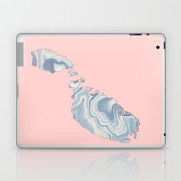 Malta map Laptop & iPad Skin