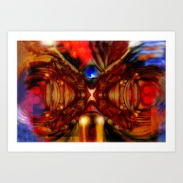 Zero Point Field IX Art Print