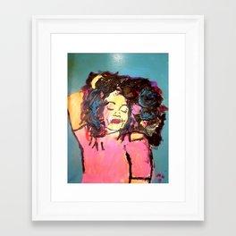 I am Black Girl Magic Framed Art Print