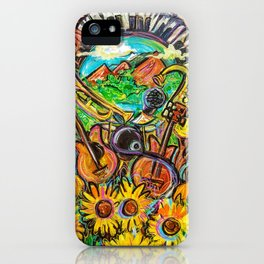 Nature's Muse iPhone Case