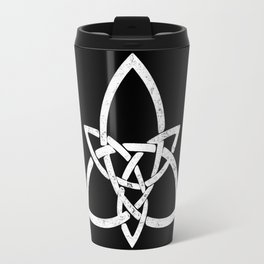 Rustic Celtic Knot - Inverted Travel Mug