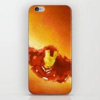 ironman iPhone & iPod Skins featuring Ironman by Divya Tak