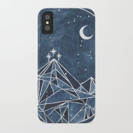 Night Court moon and stars iPhone Case
