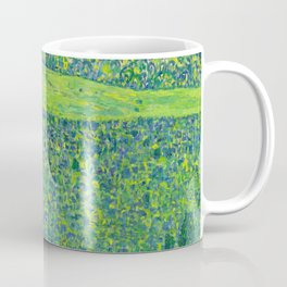 Klimt - Litzlberg on the Attersee (new editing) Coffee Mug
