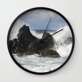 Maui Hawaii Surf Wall Clock