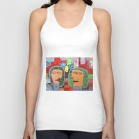 mars Tank Tops featuring Mars by luisyiyo