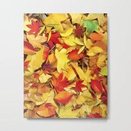 Fall - Natures Carpet Metal Print