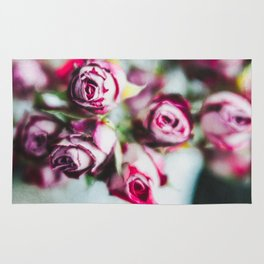 Dried Roses Rug