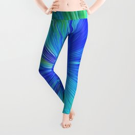 347 - Abstract colour design Leggings
