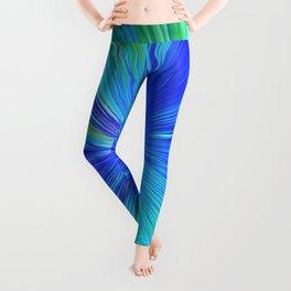 347 - Abstract colour design Leggings