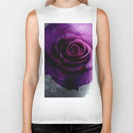 The roses on the moon Biker Tank