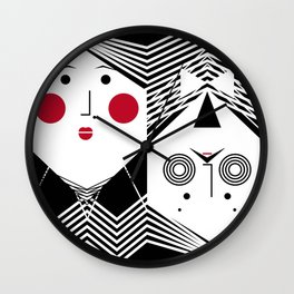 iuLieL Wall Clock