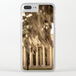 The Peristyle - New Orleans Clear iPhone Case