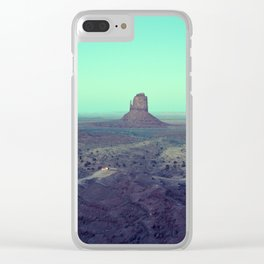 monument valley 5 Clear iPhone Case