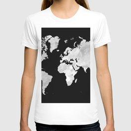 Design 70 world map T-shirt