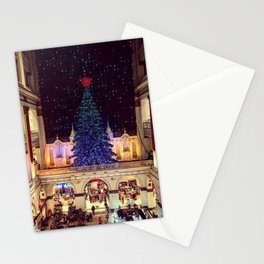 Macys at Christmas Time Stationery Cards