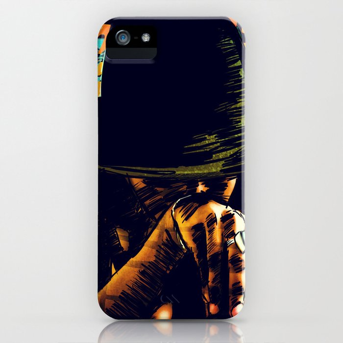 Cool hat iPhone Case
