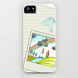 Polaroid Day  iPhone Case