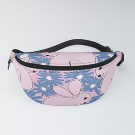 Pink Bunnies. Fanny Pack