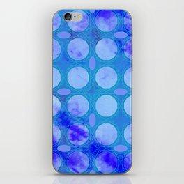 Pattern 3 Blue iPhone Skin
