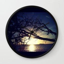 Island Dreaming Wall Clock