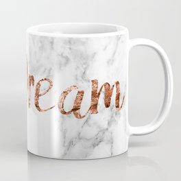 Rose gold marble dream Coffee Mug