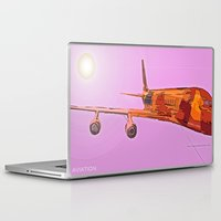 aviation Laptop & iPad Skins featuring AVIATION by PALEOMODERN