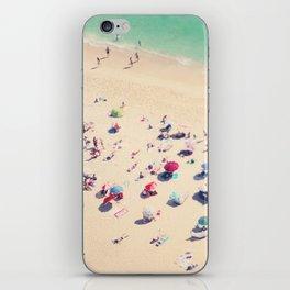beach summer in love iPhone Skin