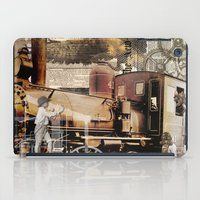 industrial iPad Cases featuring Industrial by victorygarlic - Niki