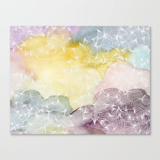 Dreaming in Lotus  Canvas Print