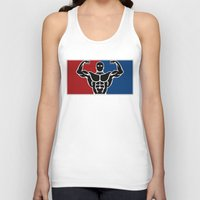 league Tank Tops featuring Major League by Gym Worthy