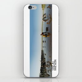 ethiopian fishing boy  iPhone Skin