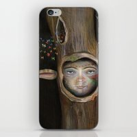 tree of life iPhone & iPod Skins featuring Tree Life by Fizzyjinks