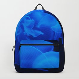 Blue Jelly Fish Backpack