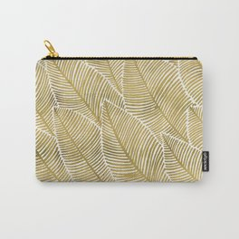Tropical Gold Carry-All Pouch