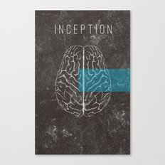 Inception Movie Poster Canvas Print